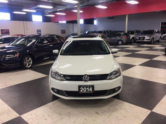 2014 Volkswagen Jetta 1 8 Tsi Comfortline 5 Speed A C Sunroof 105k Photo 1