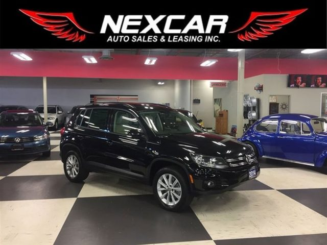 2014 Volkswagen Tiguan 2l Tsi Comfortline Auto Awd Leather Panoroof 99k