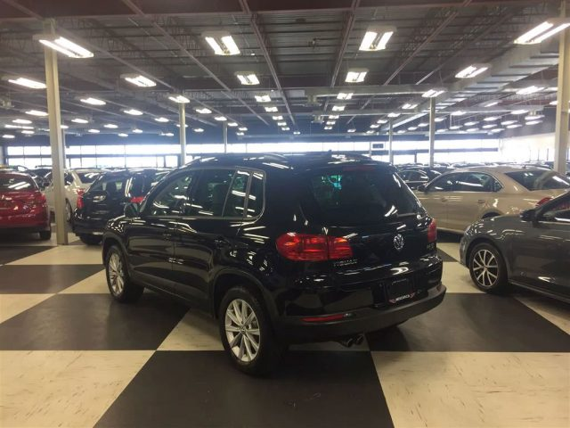 2014 Volkswagen Tiguan 2l Tsi Comfortline Auto Awd Leather Panoroof 99k Photo 2