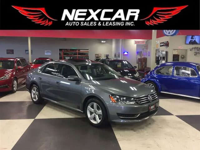 2015 Volkswagen Passat 1 8 Tsi Comfortline Auto Leather Sunroof 74k