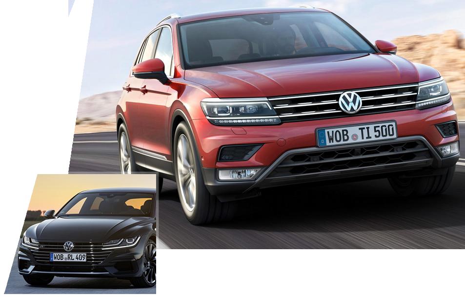 Volkswagen Sedan Suv